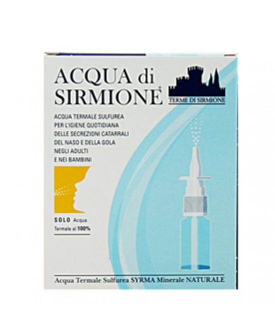 Acqua Sirmione Minerale Naturale 6f da 15ml - Farmacento