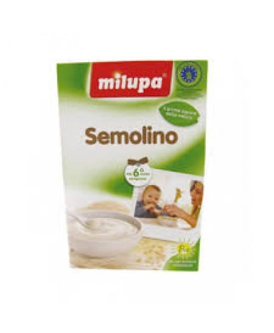 MIlupa Fior Di Cereali Semolino Bio 200g - Farmacento