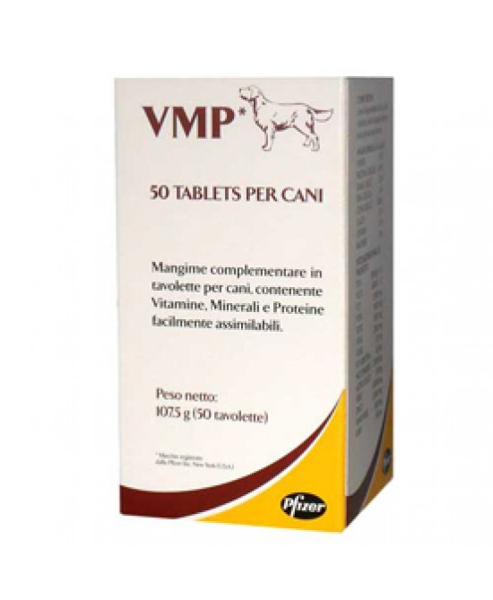 Vmp Pfizer Cani 50cpr - farma-store.it