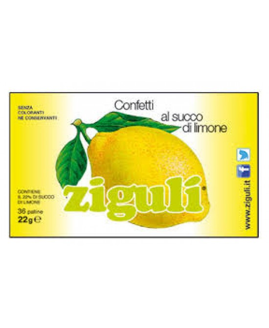 Ziguli Limone 36 Palline 22g - farma-store.it