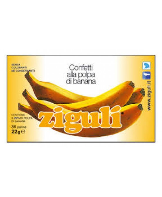 Ziguli Banana 36 Palline 22g - farma-store.it
