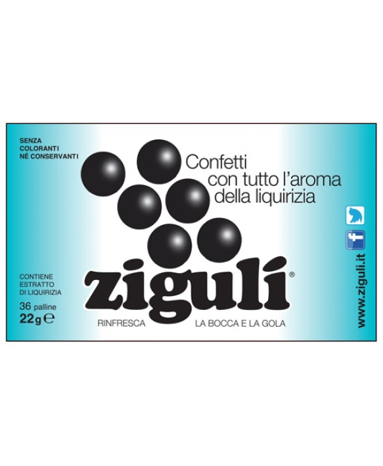 Ziguli Liquirizia 36 Paalline 22g - farma-store.it