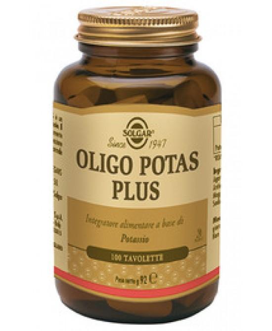 Solgar Oligo Potas Plus 100 Tavolette - Farmacia 33