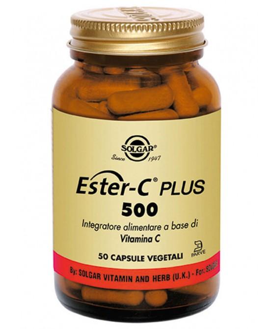 Solgar Ester C Plus 500 50 Capsule Vegetali - La tua farmacia online
