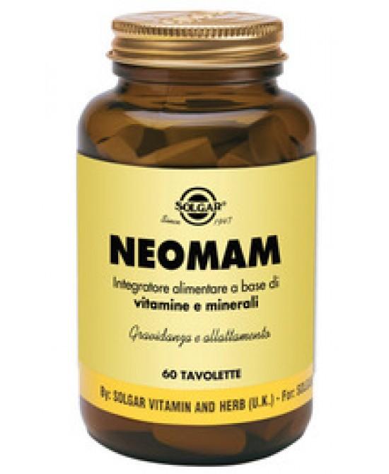 Solgar Neomam 60 Tavolette - Farmastar.it