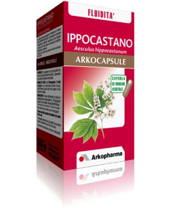 Arkopharma Ippocastano Arkocapsule Integratore Alimentare 50 Capsule - Zfarmacia