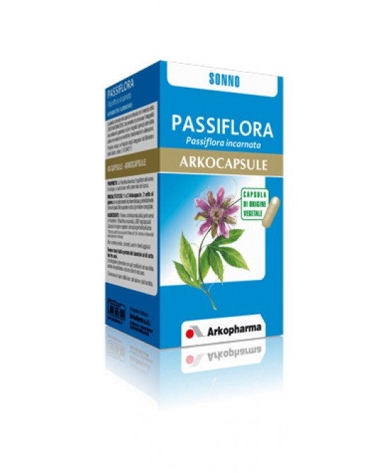 Arkopharma Passiflora Arkocapsule Integratore Alimentare 45 Capsule - Parafarmaciabenessere.it