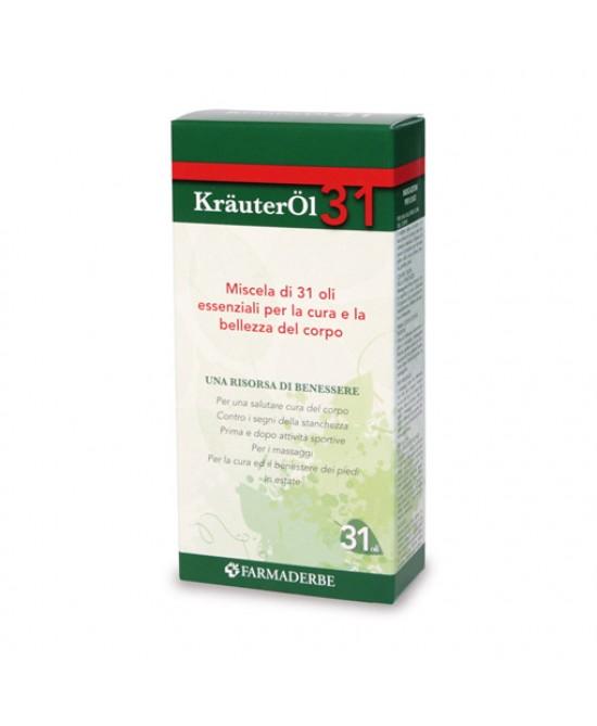 Farmaderbe KrauterOL 31 Miscela Di Oli Essenziali Cosmetici 100ml - FARMAEMPORIO
