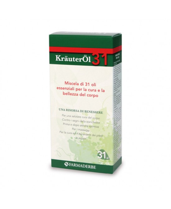 Farmaderbe KrauterOL 31 Miscela Di Oli Essenziali Cosmetici 100ml - Farmacia 33