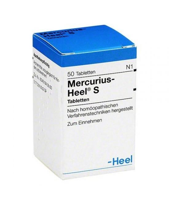 Mercurius-Heel S 50 Compresse - Farmawing