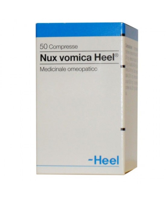 Heel Nux Vomica 50 Compresse - Farmastar.it