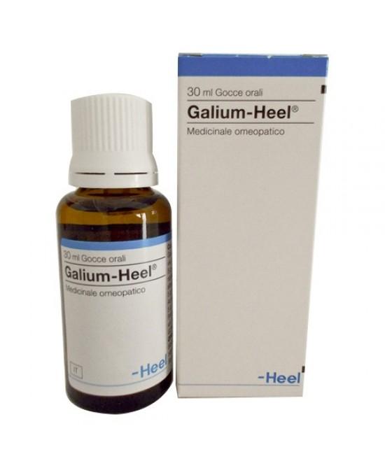 Heel Galium-Heel Medicinale Omeopatico Senza Glutine Gocce 30ml - FARMAEMPORIO