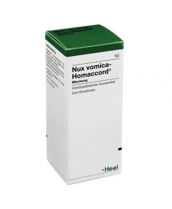 Heel Nux Vomica-Homaccord Gocce 30ml - farma-store.it