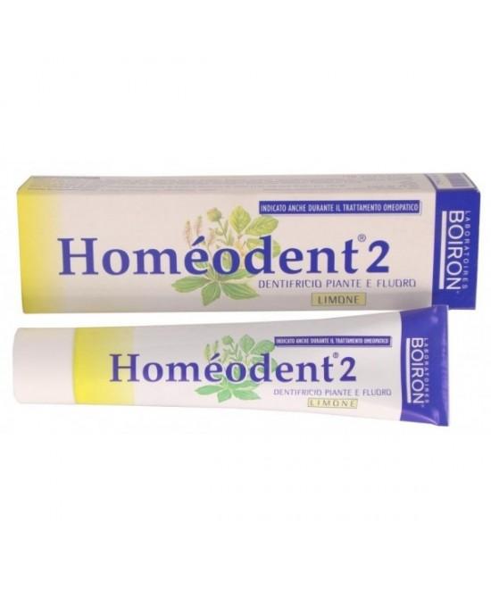 Borion Homeodent 2 Dentifricio Limone 75ml - FARMAEMPORIO