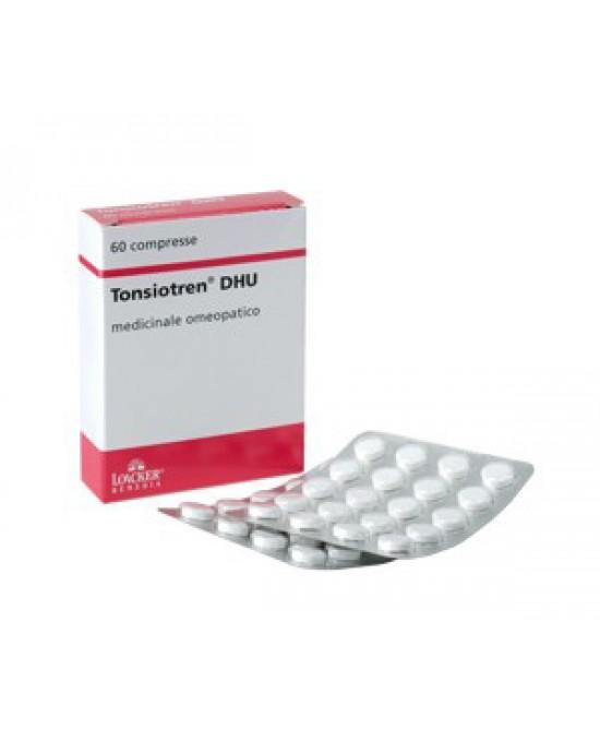 Loacker Remedia Tonsiotren Dhu 60 Compresse - Farmacento