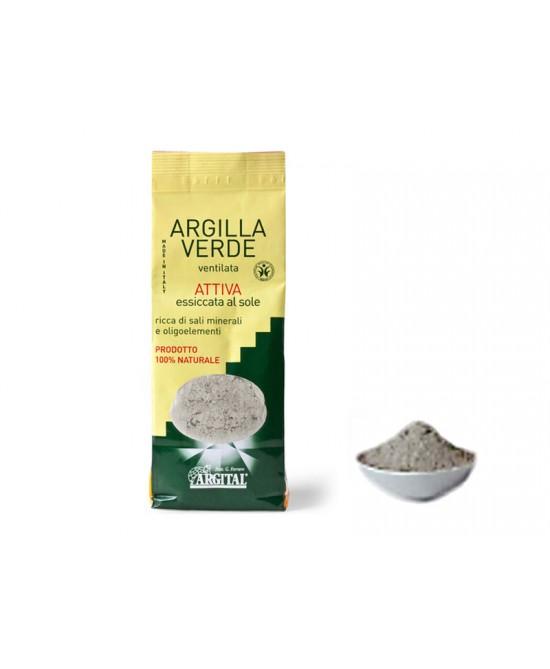 Argilla Verde Ventilata Attiva 500g - Antica Farmacia Del Lago