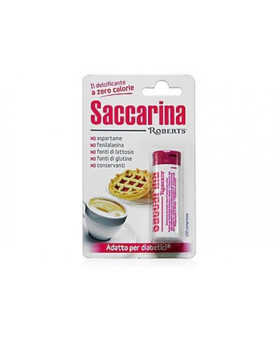 Saccarina Roberts 100 Compresse 3 Tubi - Farmawing