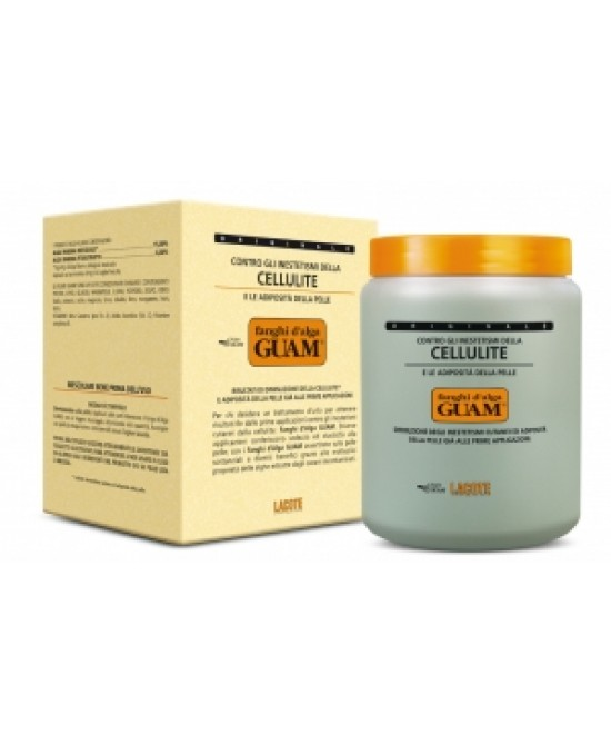 Guam Fanghi D'alga Classici Anti-Cellulite Vaso da 1000 g  - La tua farmacia online