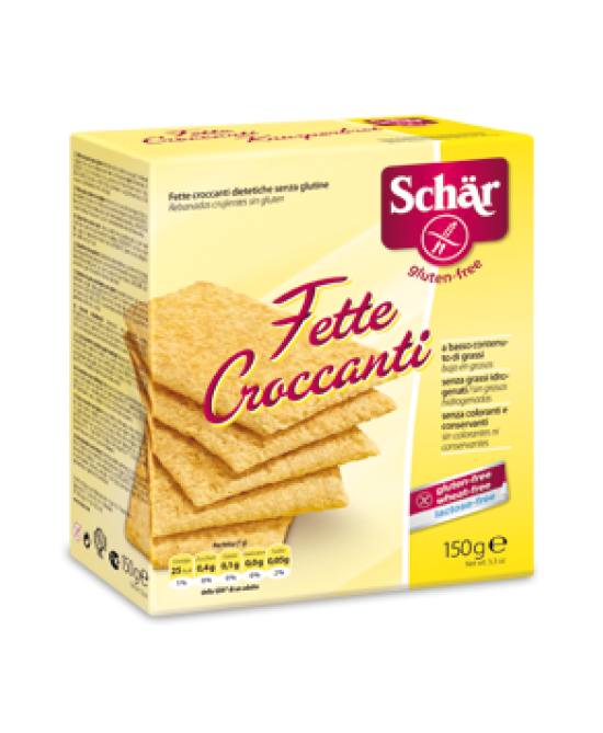 Schar Fette Croccanti Senza Glutine 150g - Zfarmacia