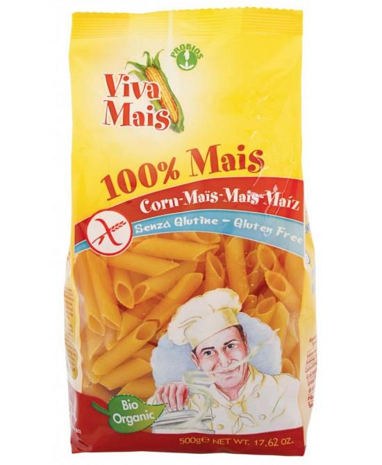Viva Mais Pennette 100% Mais Biologiche Senza Glutine 500g - FARMAEMPORIO