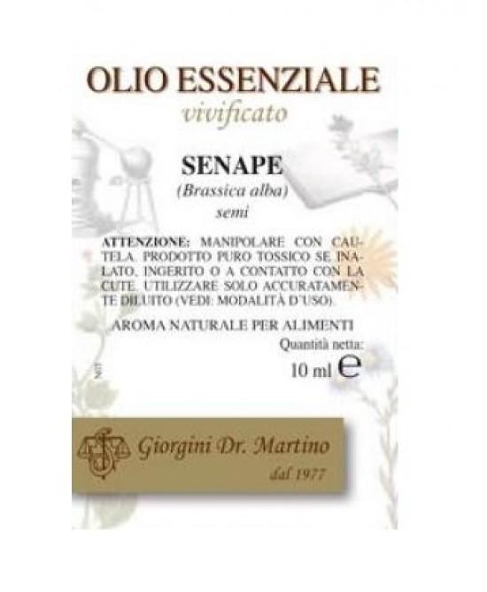 Senape Olio Ess 10ml - Zfarmacia