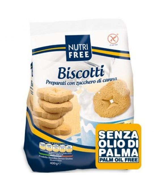 Nutrifree Biscotti Con Zucchero Di Canna Senza Glutine 400g - La tua farmacia online