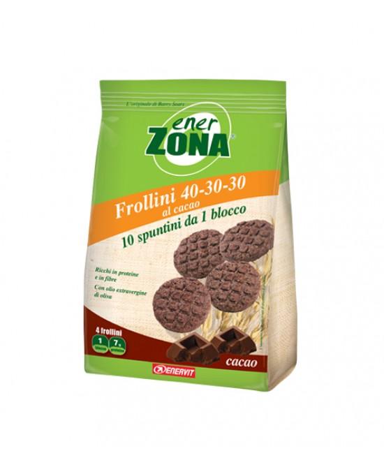 EnerZona Enervit Frollini 40-30-30 Cacao 250g - Farmaciasconti.it