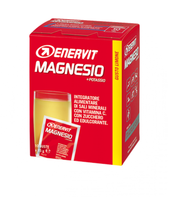 Enervit Enervit Sport Potassio Magnesio Integratore Alimentare 10 Buste Da 15g - Farmacento