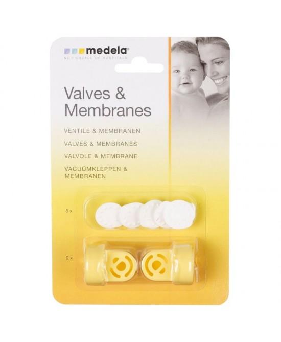 Medela Valvole E Membrane - Farmamille
