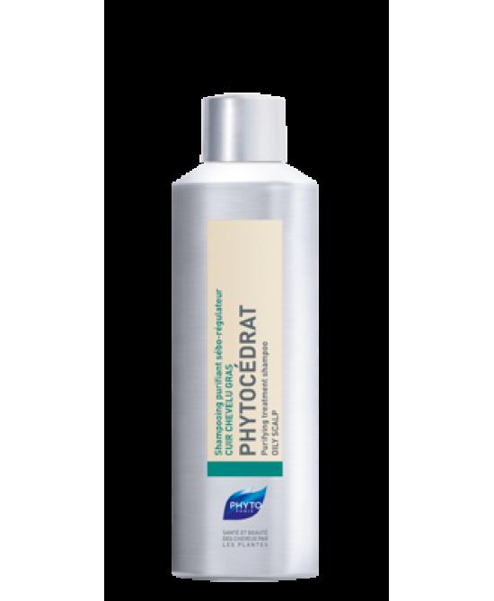 Phyto Phytocédrat Shampoo Purificante Sebo-Regolatore 200ml - Farmacia 33