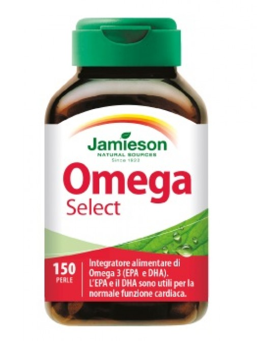 Jamieson Omega Select  Integratore Alimentare 150 Perle - La tua farmacia online