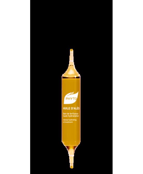 Phyto Huile D'Ales Olio Luminosità Alta Idratazione 5 Fiale Da 10ml - Farmacia 33