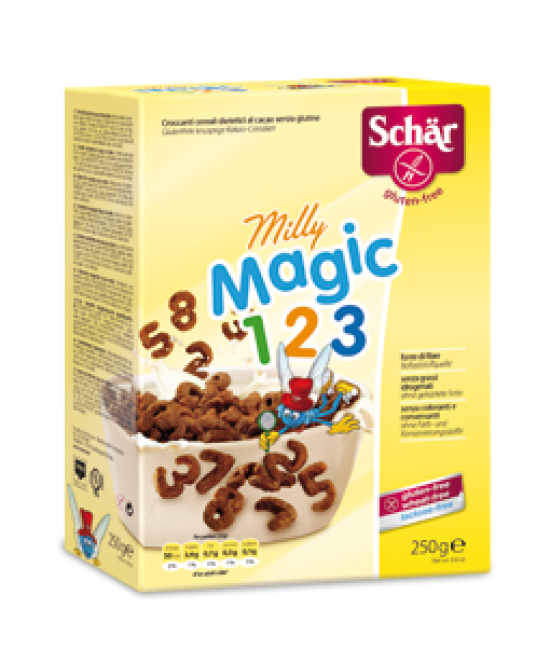 Schar Milly Magic 123 Croccanti Cereali Al Cacao Senza Glutine 250g - Zfarmacia