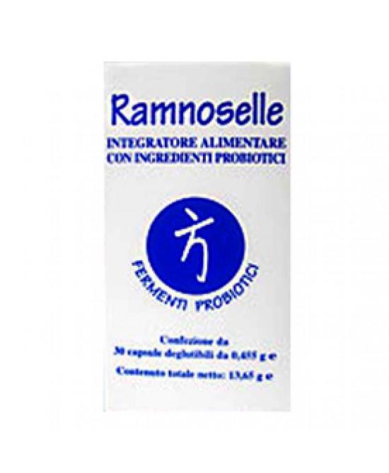 Bromatech Ramnoselle Integratore Alimentare Fermenti Lattici 30 Capsule - Farmastar.it