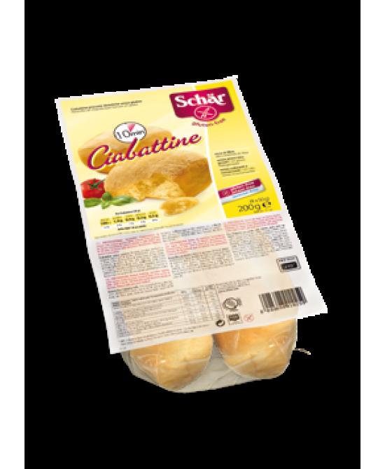 Schar Ciabattine Precotte Dietetiche Senza Glutine 200g - Zfarmacia