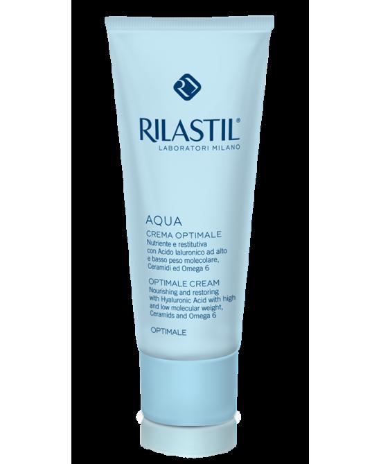 Rilastil Aqua Idratazione Profonda Optimale Crema Idratante Ricca 50 ml - La tua farmacia online