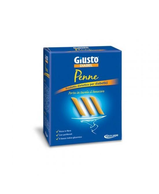 Giusto Diabel Pasta  A Basso Contenuto Glicemico Penne 500g - FARMAEMPORIO