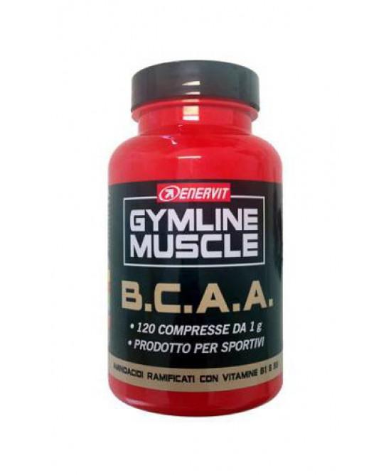 Enervit Gymline Muscle B.C.A.A. Integratore Alimentare 120 Compresse - Farmacia 33