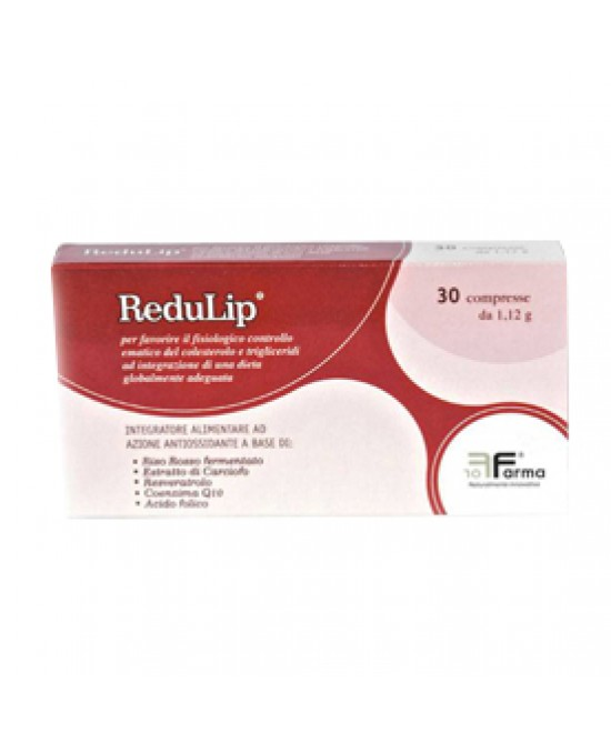 Redulip 30cpr - La tua farmacia online