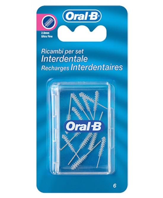 Oral-B Scovolini Interdentali Fini 2,7mm 12 Pezzi - farma-store.it