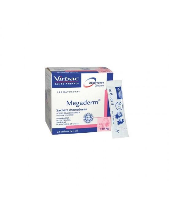 Megaderm Supplemento Cani Gatti 32 Bustine - Farmacento