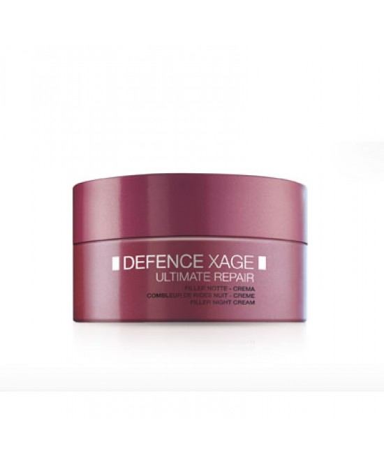 Defence Xage Ultimate Repair Crema Filler Notte 50 ml - Farmalilla