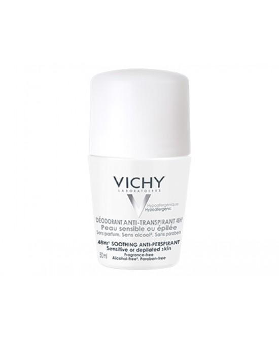 Vichy Deodorante Roll-On Pelle Sensibile O Depilata - farma-store.it