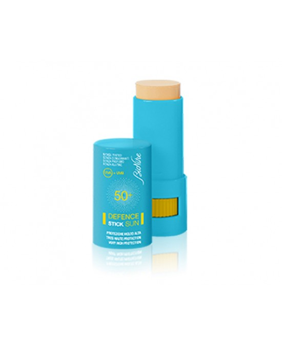 BIONIKE DEFENCE SUN SOLARI STICK SPF 50+ ZONE SENSIBILI PROTEZIONE MOLTO ALTA STICK DA 9 ML - Farmastar.it