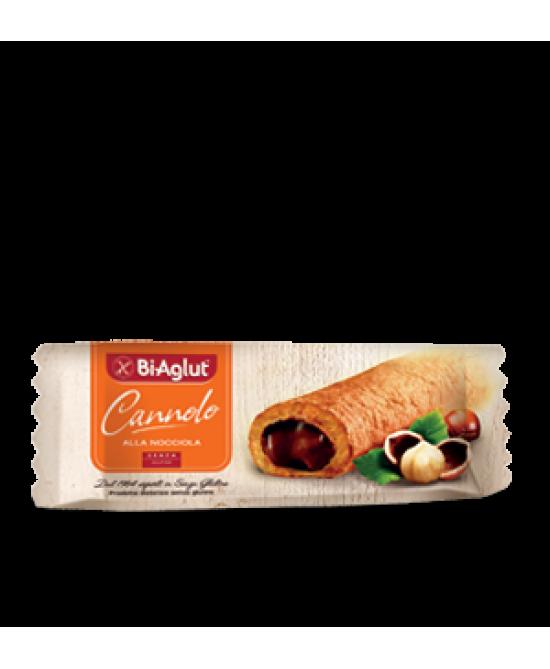 Bi-Aglut Cannolo Alla Nocciola Senza Glutine 25g - FARMAPRIME