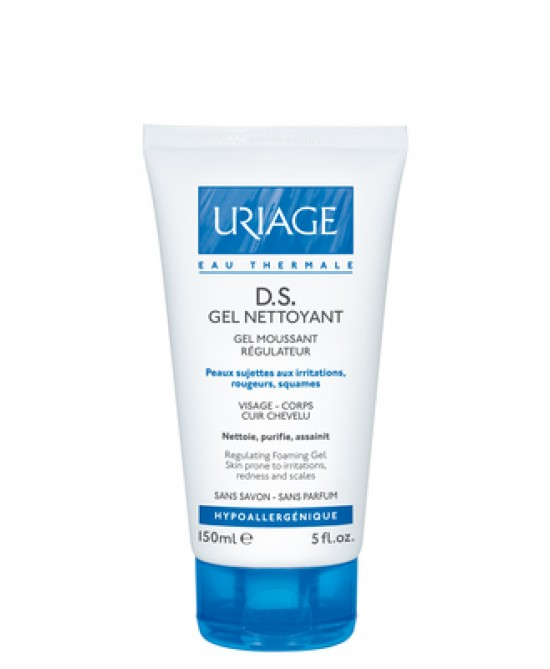 Uriage D.S. Gel Detergente Regolatore Per Cute Soggetta A Irritazioni 150ml - Farmacento