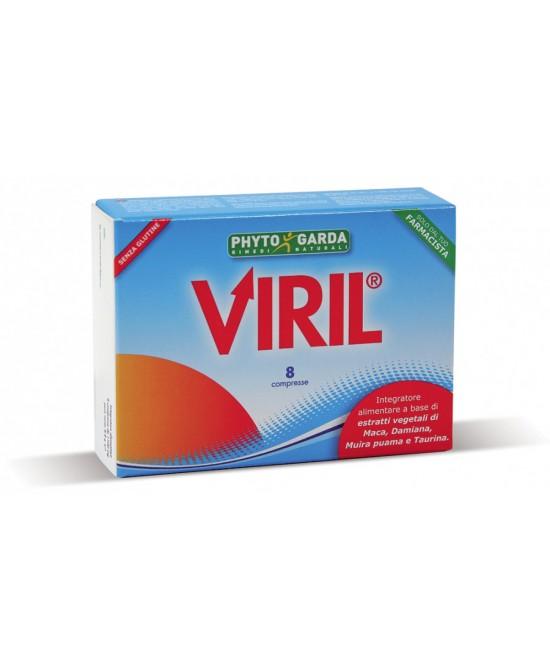 Phyto Garda Viril Integratore Alimentare 8 Compresse Rivestite - La tua farmacia online