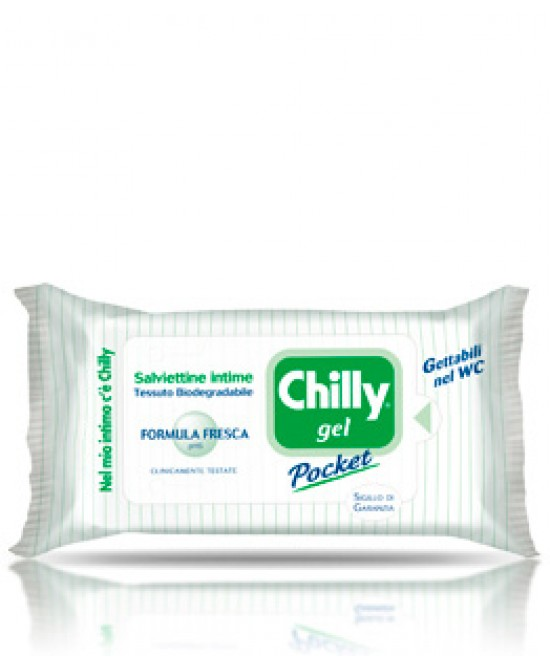 Chilly Gel Pocket Formula Fresca 12 Salviette Intime - La tua farmacia online