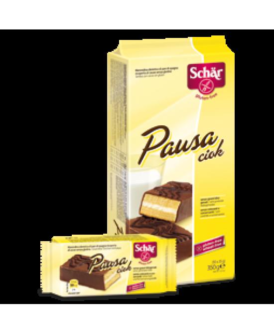 Schar Pausa Ciok Merendina Di Pan Di Spagna Ricoperta Al Cacao Senza Glutine 35g - Farmacento