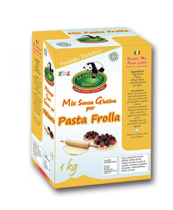 Alilmenta 2000 Farina Mix Pasta Frolla Senza Glutine 1kg - FARMAEMPORIO
